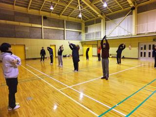 冬季トレーニング